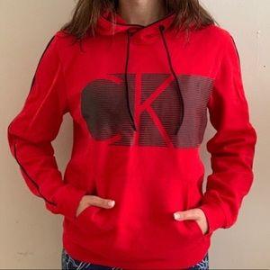 Calvin Klein CK Logo Pullover Hoodie